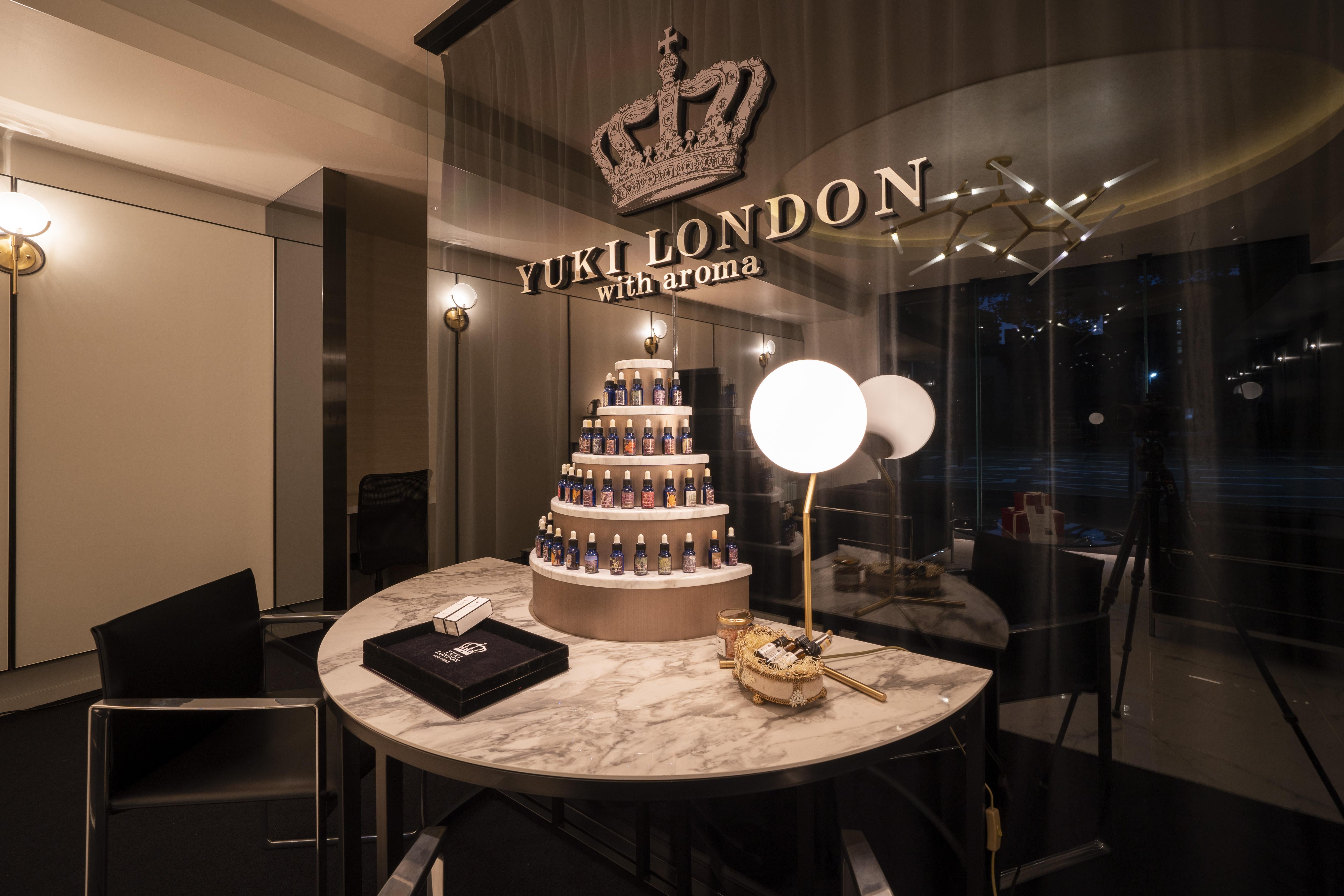 YUKI LONDON with aroma